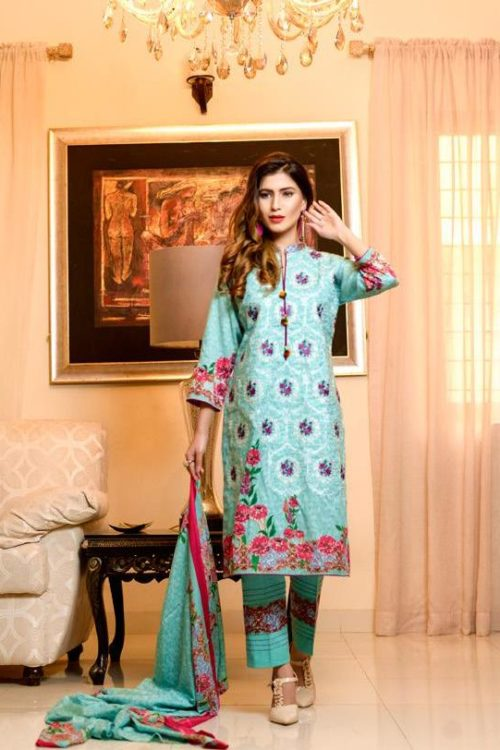Bin Saeed Alishba Embroidered Lawn HOT