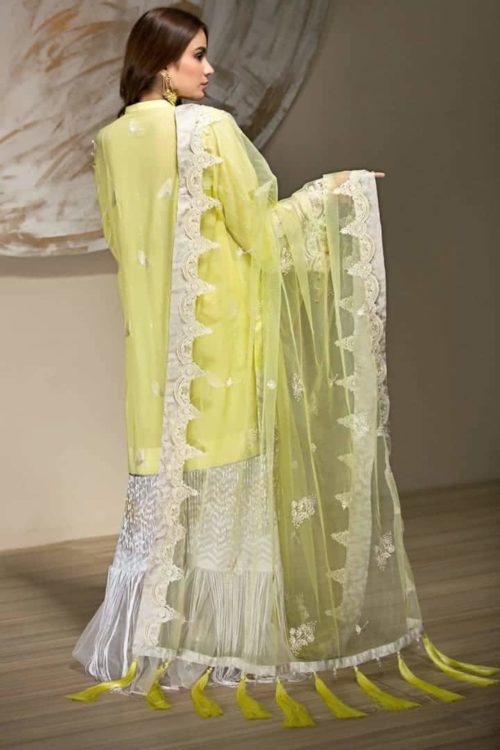 Mahapara Khan Yes Lawn 2019 – Yellow Color Salwar Suit –  FSTN HOT