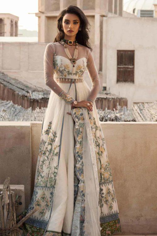 Elan Festive Unstitched 2019 EF-01 (AREZOO) RESTOCKED