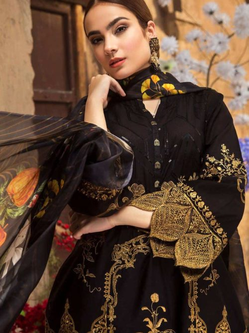 Resham Ghar Exclusive Lawn Collection - Original