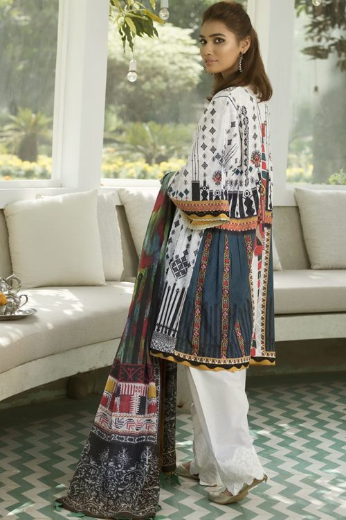 Zaha's Fayroz Eid Unstitched Collection AZARA (ZF-13) RESTOCKED