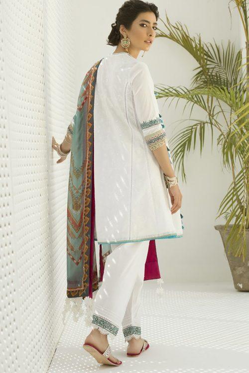 Zaha's Fayroz Eid Unstitched Collection LALEH (ZF-12) RESTOCKED