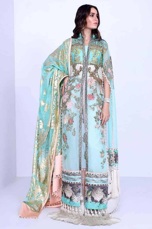 *On Sale* Sana Safinaz  Luxury Eid'19  1A RESTOCKED Festive