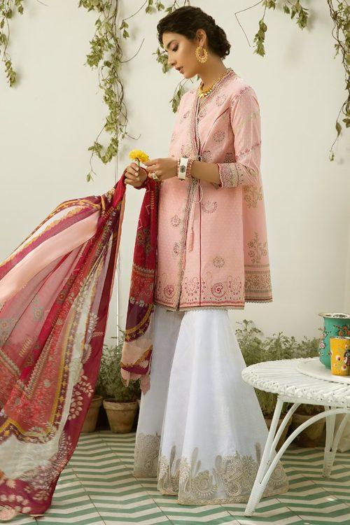 Zaha's Fayroz Eid Unstitched Collection NAWRA (ZF-11) RESTOCKED
