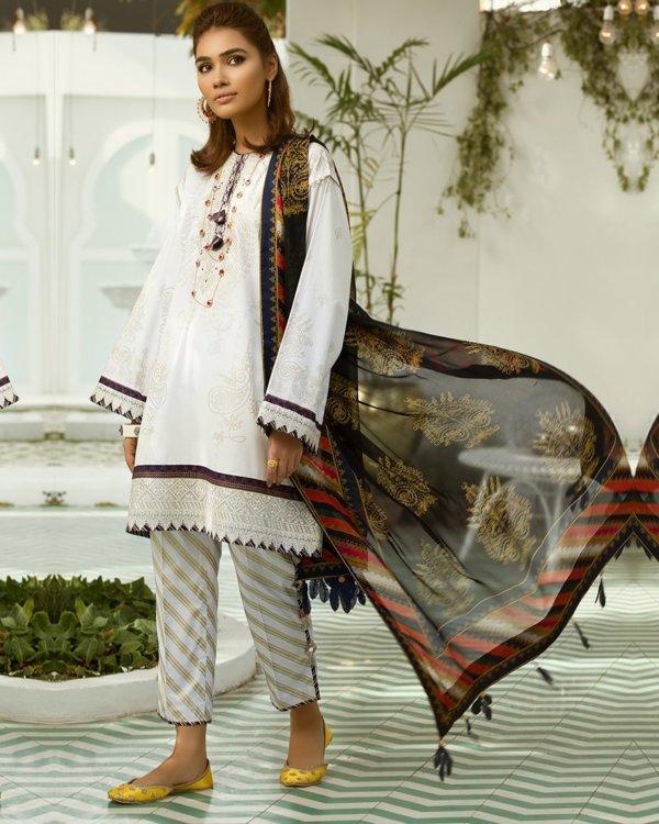 Zaha's Fayroz Eid Unstitched Collection KOHINOOR (ZF-01) RESTOCKED