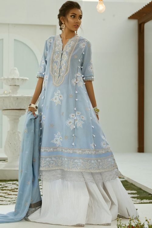Zaha's Fayroz Eid Unstitched Collection JASMINE (ZF-15)