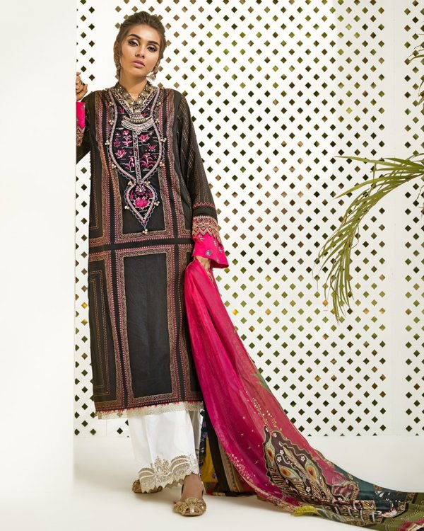 Zaha's Fayroz Eid Unstitched Collection PAREESA (ZF-10) RESTOCKED