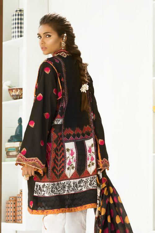 Zaha's Fayroz Eid Unstitched Collection ANARKALI (ZF-05) RESTOCKED
