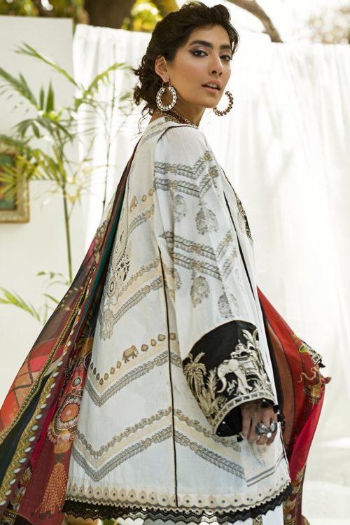 Zaha's Fayroz Eid Unstitched Collection  ELAHEH (ZF-04) RESTOCKED