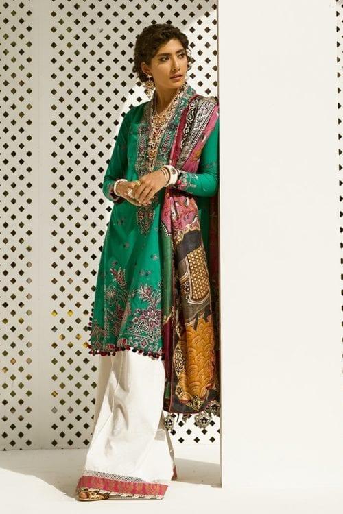 Zaha's Fayroz Eid Unstitched Collection NEELUM (ZF-02) RESTOCKED
