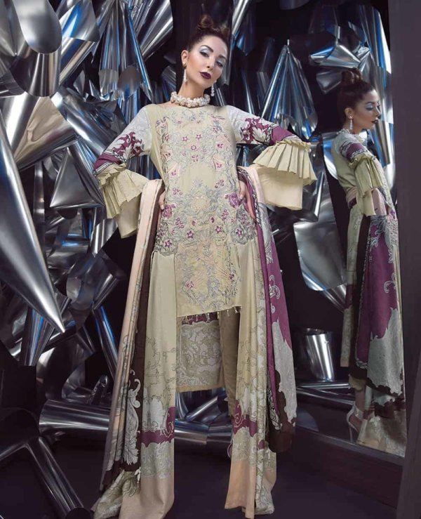 ITTEHAD SIGNATURE SERIES WINTER COLLECTION – – – FROSTED BLUSH RESTOCKED
