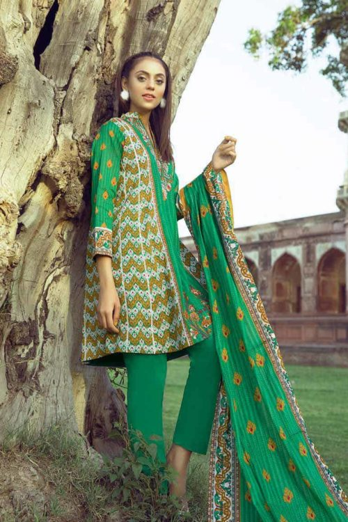 Anum Printed Lawn 2019 – Vol 3 by Al Zohaib HOT