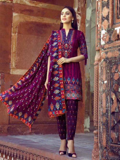 Anum Printed Lawn 2019 - Vol 3 - Original