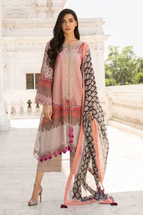 Sobia Nazir Vital Design 2A RESTOCKED Sobia Nazir Vital - Original best pakistani suits collection