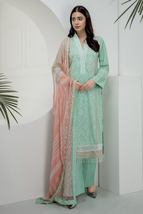 *On Sale* Chikankari Essential Collection by LSM  CK-7003 best pakistani suits collection