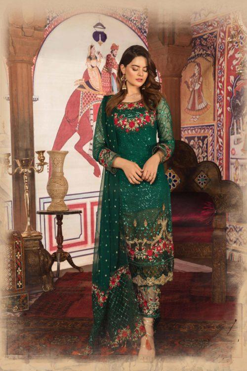 Akbar Aslam's Luxury Festive Chiffon RESTOCKED Best Sellers Restocked Akbar Aslam's Luxury Festive Chiffon