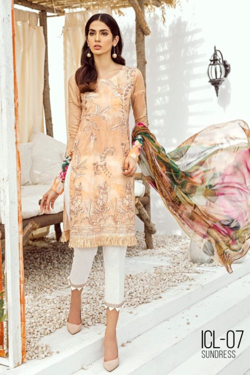 Iznik Chinon Lawn Volume 3 – ICL -07 (Sundress) RESTOCKED