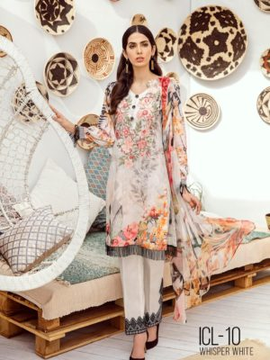 Iznik Chinon Lawn Volume 3 –  ICL -04 (Pastel Yellow)