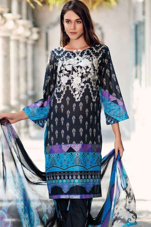 *Hot on Sale* Black & White by Charizma BW-11 HOT best pakistani suits collection