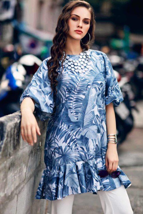 Nourhan Magnolia   – Single PC Tunic HOT