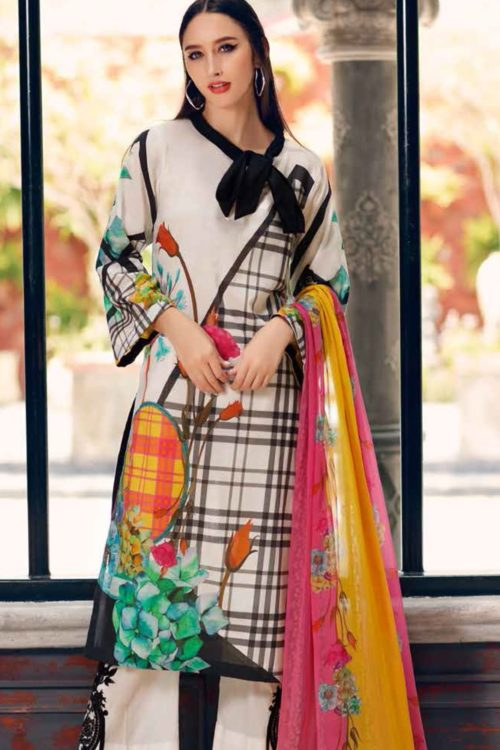 Black & White by Charizma RESTOCKED Best Sellers Restocked best pakistani suits collection