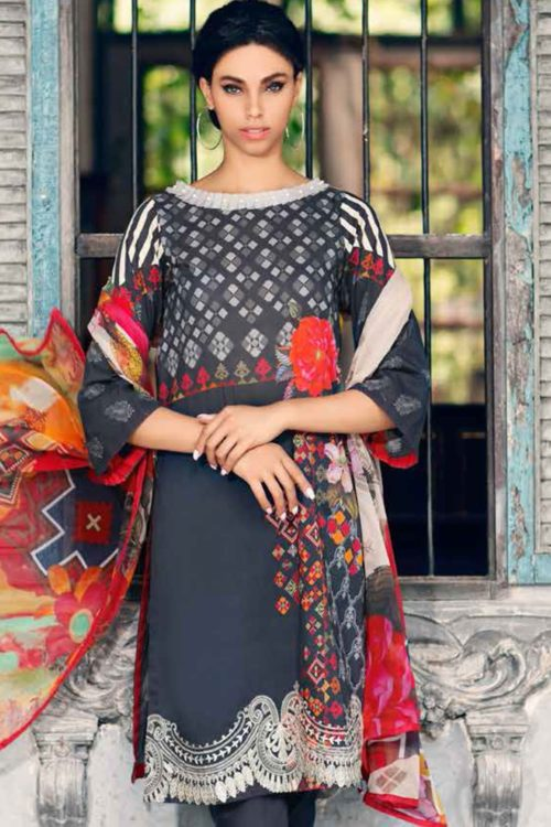 Black & White by Charizma - Original Black & White by Charizma BW-9 Charizma Pakistani Suits