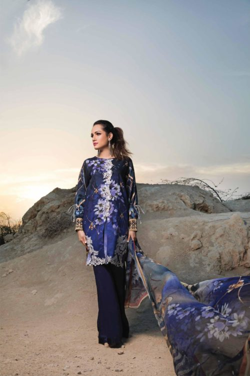 Ombre by Firdous Embroidered Lawn RESTOCKED