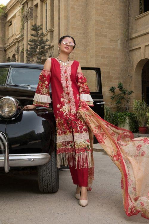 Gulmohar lawn salwar suit (1)