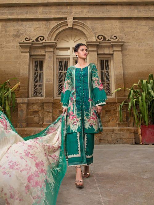 Gulmohar lawn salwar suit (10)