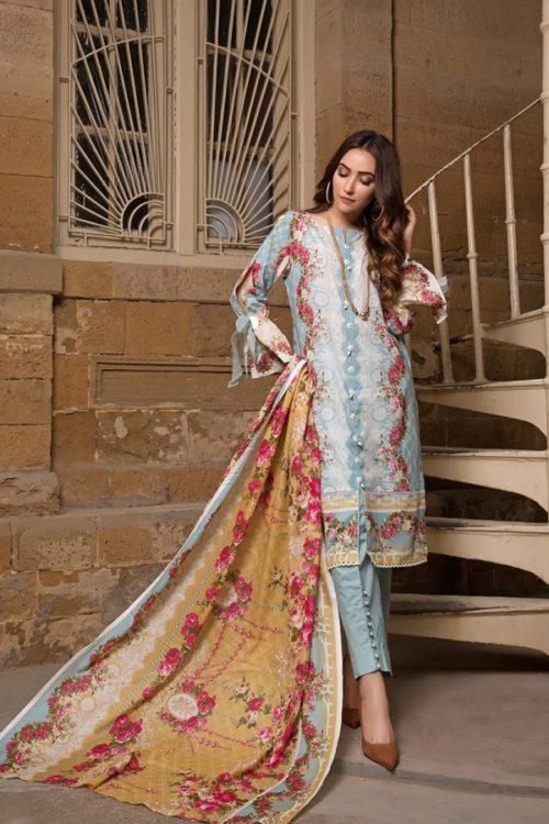 Gulmohar lawn salwar suit (12)
