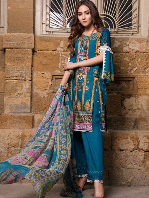 Gulmohar lawn salwar suit (15)