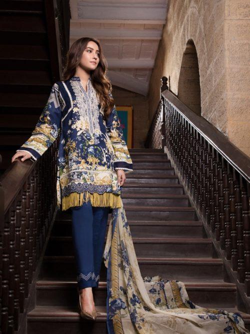 Gulmohar lawn salwar suit (2)