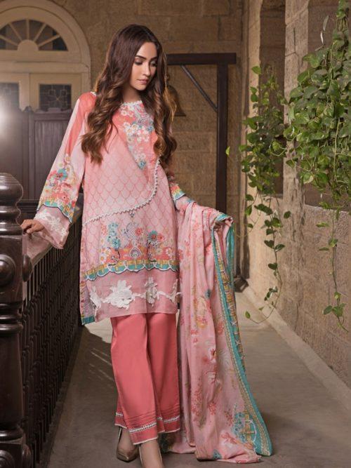 Gulmohar lawn salwar suit (4)
