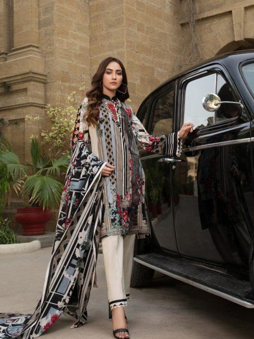 Gulmohar lawn salwar suit (5)
