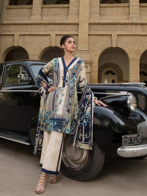 Gulmohar lawn salwar suit (6)
