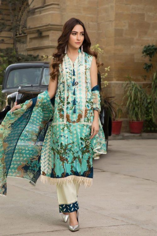 Gulmohar lawn salwar suit (7)