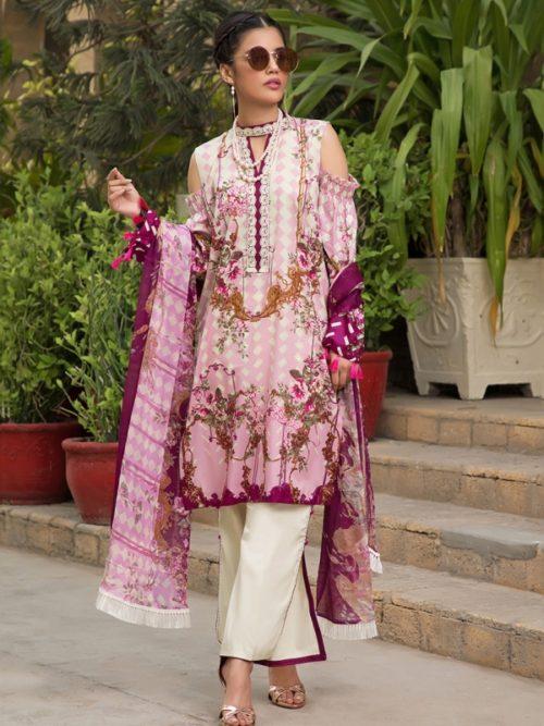 Gulmohar lawn salwar suit (8)