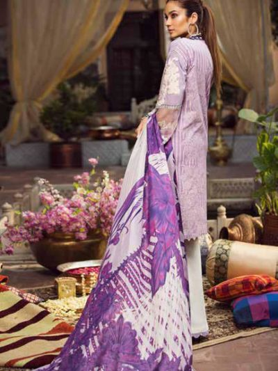 Maryam Hussain Luxury Festive Lawn Design 03