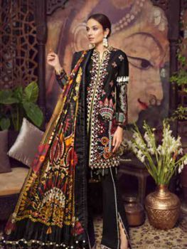 Maryam Hussain Luxury Festive Lawn Design 06