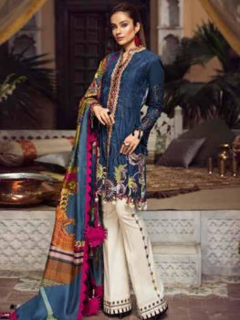 Maryam Hussain Luxury Festive Lawn Design 07