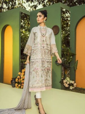 Aurelia by Adan Libas SEA NYMPH – EMBROIDERED LAWN UNSTITCHED