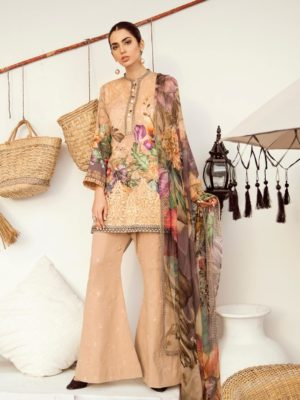 Iznik Chinon Lawn Volume 3 – ICL -12 (Misty Rose)