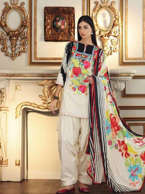 charizma combination pakistani suit (11)