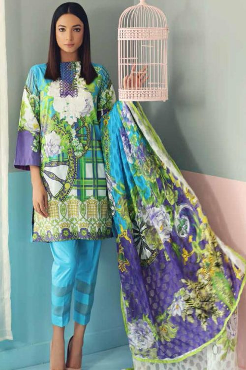 Charizma Charizma Combination Vol-1 CC-19-07 Charizma Pakistani Suits