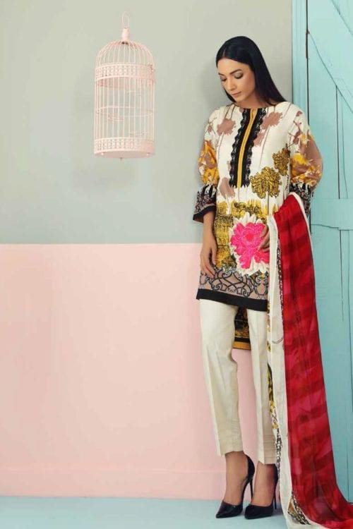 Charizma Charizma Combination Vol-1 CC-19-04 Charizma Pakistani Suits