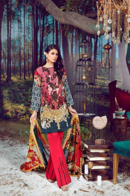 Firdous Virasat Summer Lawn 19205 B Restocked Best Sellers Restocked best pakistani suits collection