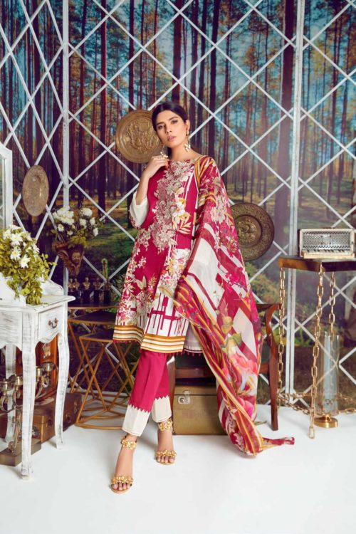 Firdous Virasat Summer Lawn 19102 A RESTOCKED Best Sellers Restocked best pakistani suits collection