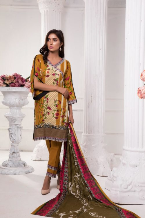 Ready to Ship Sahil Pakistani Suit Printed Lawn Lawn Dupatta Salwar Suits