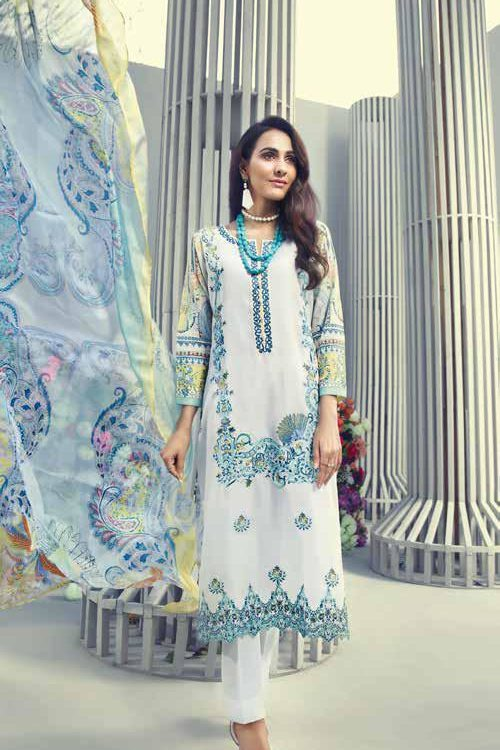 GulAhmed Mal Mal Collection SSM-18 RESTOCKED GulAhmed Mal Mal Collection Vol 2 - Original best pakistani suits collection