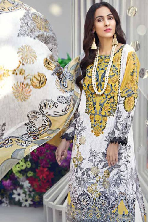 GulAhmed Mal Mal Collection SSM-23 RESTOCKED Best Sellers Restocked best pakistani suits collection